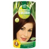 Hennaplus Long Lasting Colour 4,45 Warm Brown, 100ml